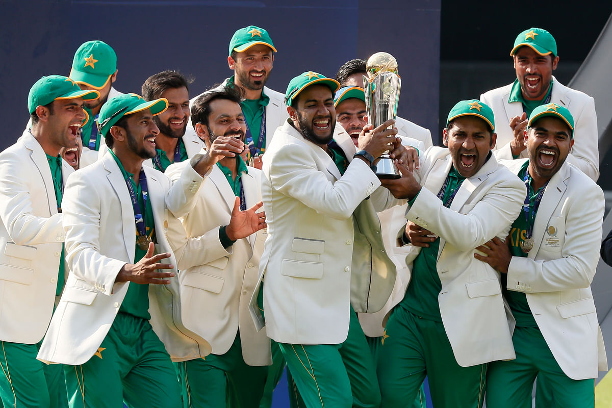 Pakistan won their first Champions Trophy title on Sunday. (Photo: AP)