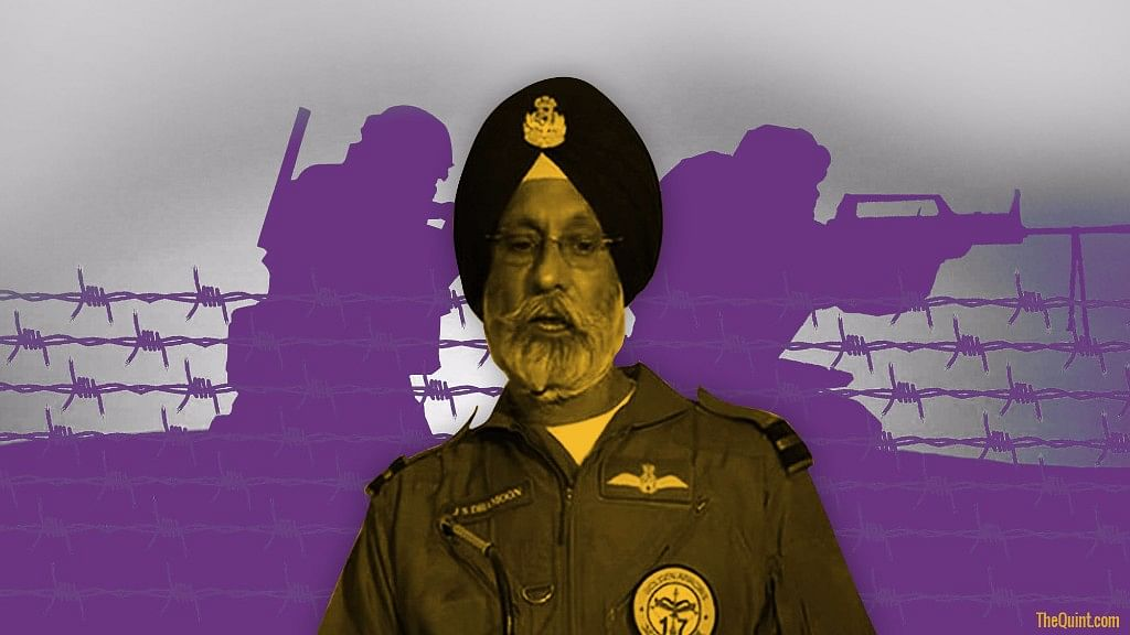 Air Commodore JS Dhamoon's premature resignation is significant because of some sections of the media's claims to the contrary. (Photo: Harsh Sahani/The Quint)