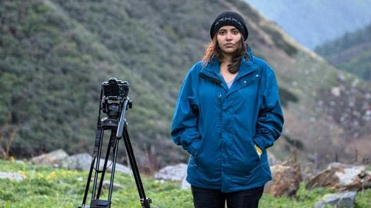 Juhi Sharma was abused online for trying to raise funds for a filmmaking course abroad. (Photo Courtesy: The News Minute)