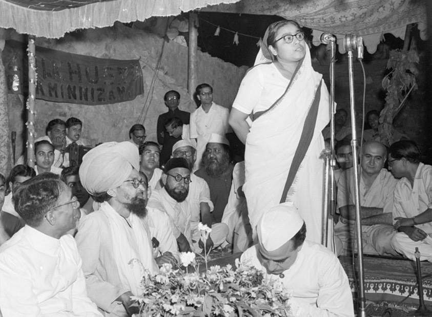 The Constituent Assembly session on the eve of Independence saw Sucheta Kripalani singing Vande Mataram. Image used for representational purposes.