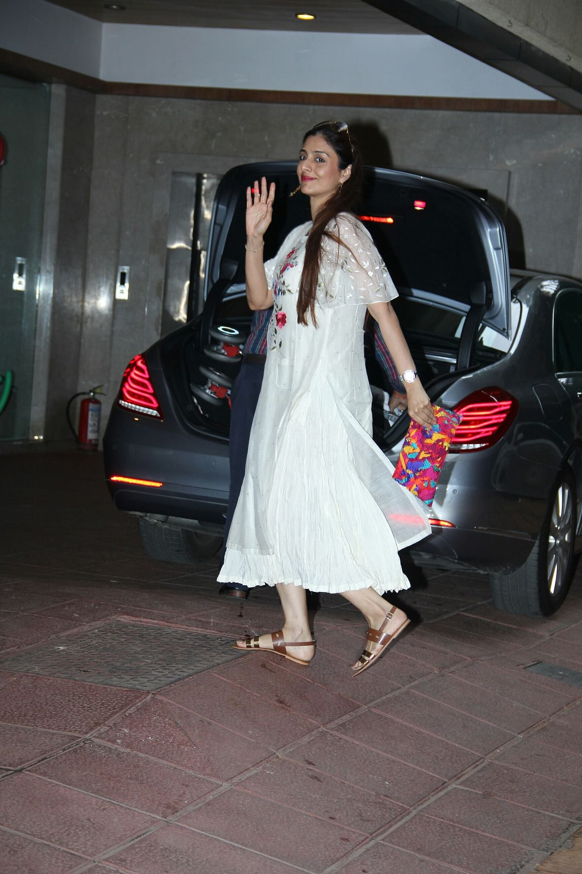 Tabu was also spotted. (Photo: Yogen Shah)