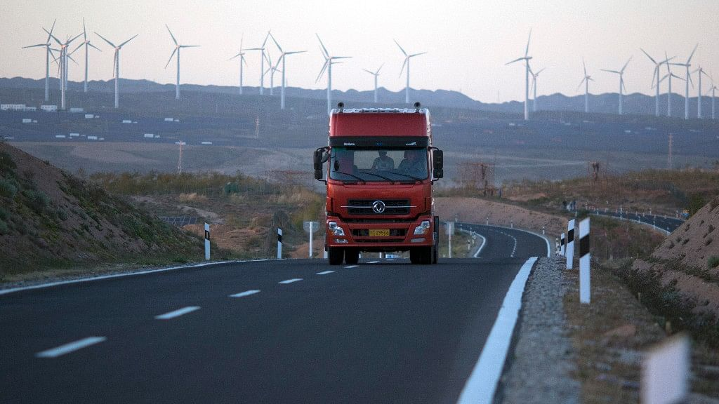 China has been paving a path towards global environmental leadership in recent years. (Photo: AP)
