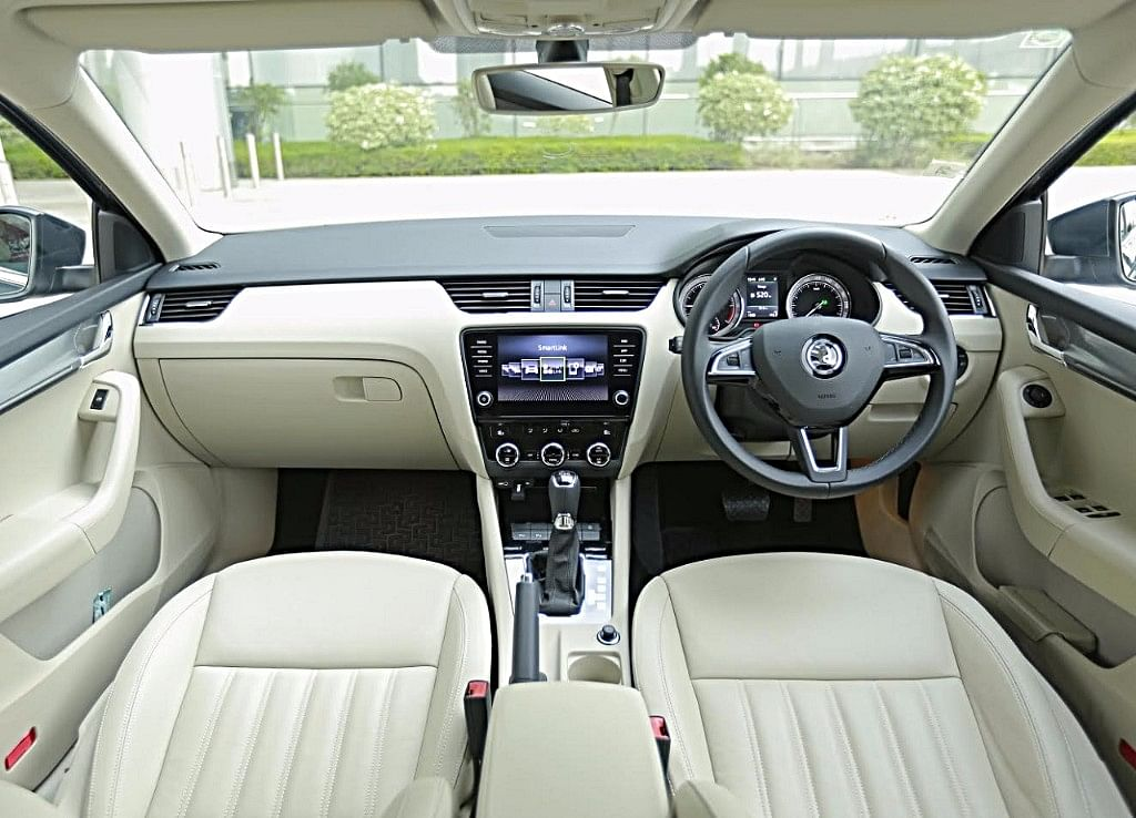 The interiors have not changed much, except for a larger infotainment system.