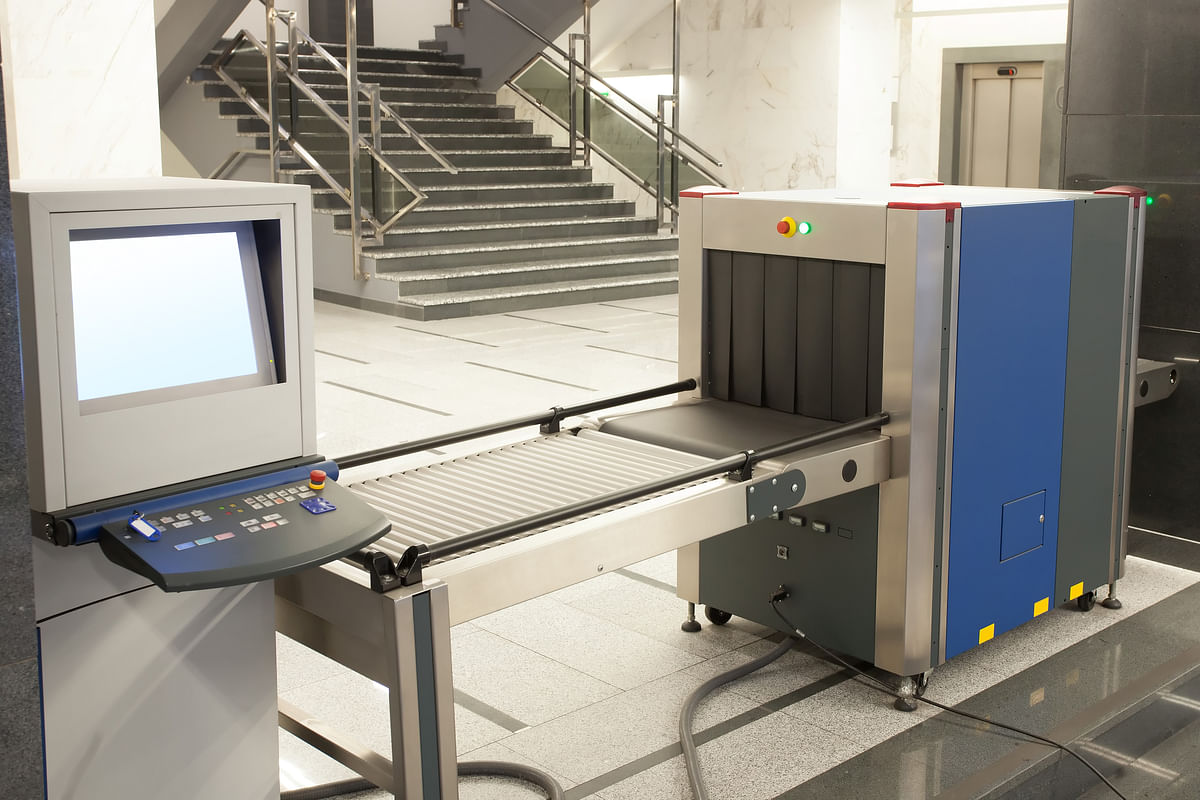 X-ray machines are used to detect smuggled goods. (Photo: iStock)