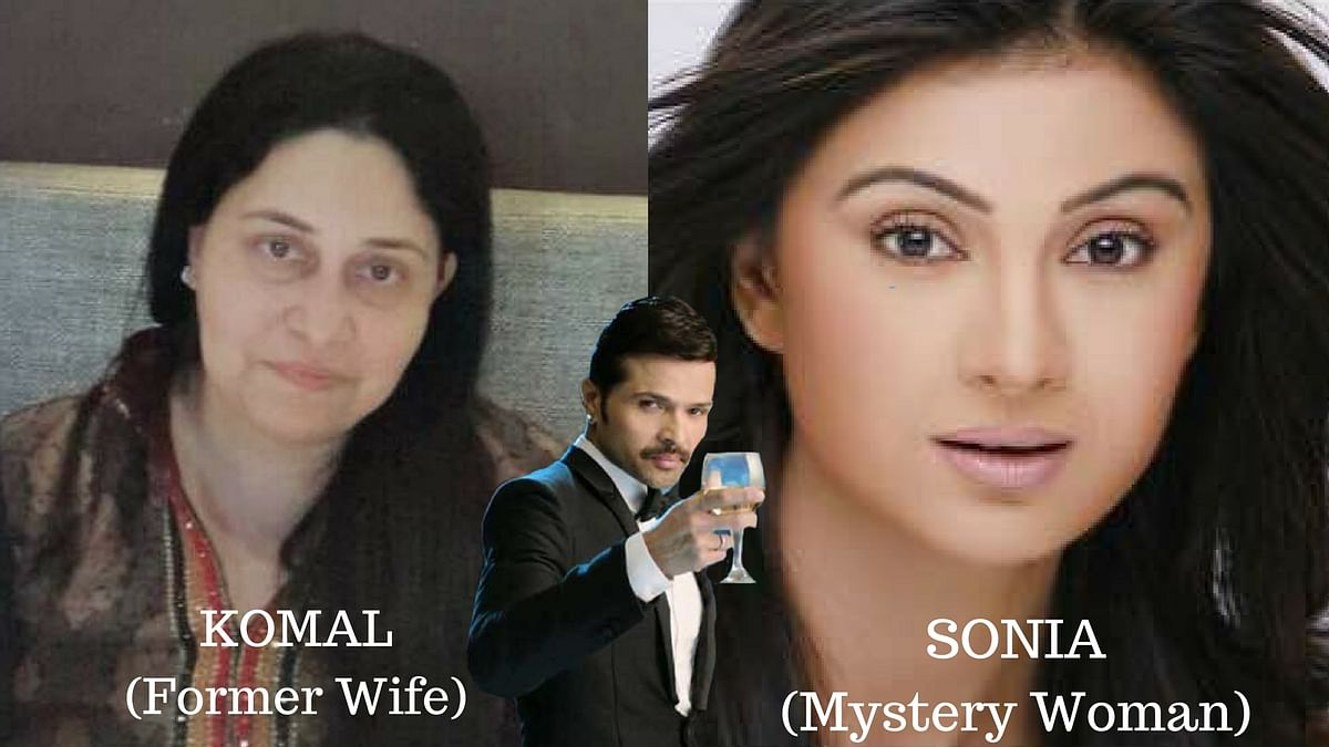 Himesh Reshammiya sends a press release about his divorce and it mentions his former wife Komal and a mystery woman named Sonia.