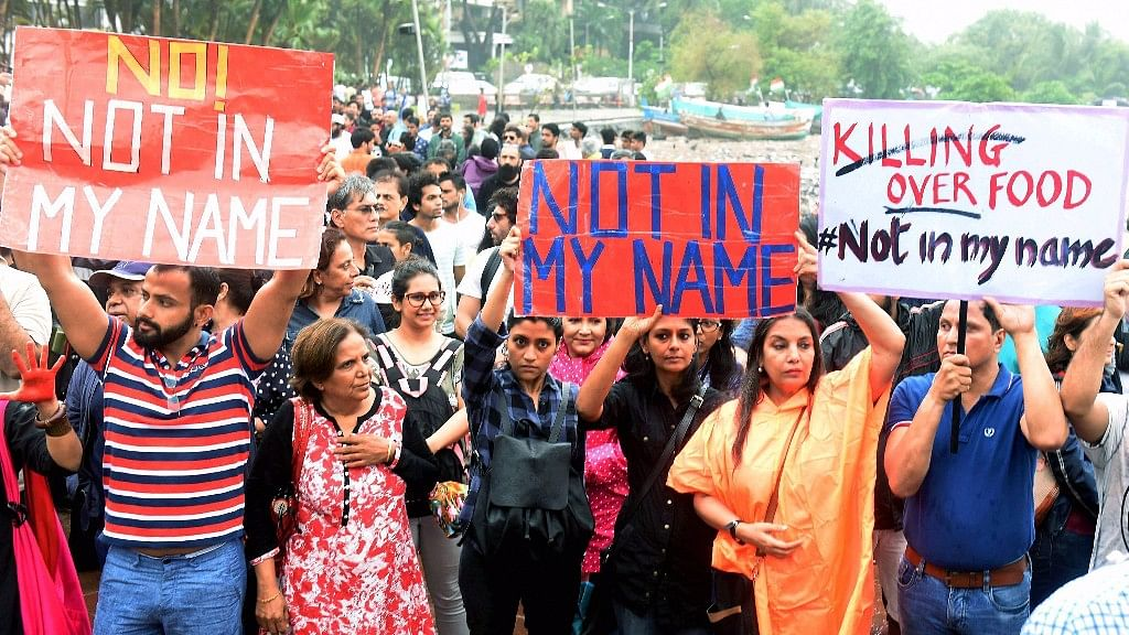 "Many celebrities including Shabana Azmi and Konkona Sen Sharma participated in Wednesday's country-wide protest ""Not In My Name""."