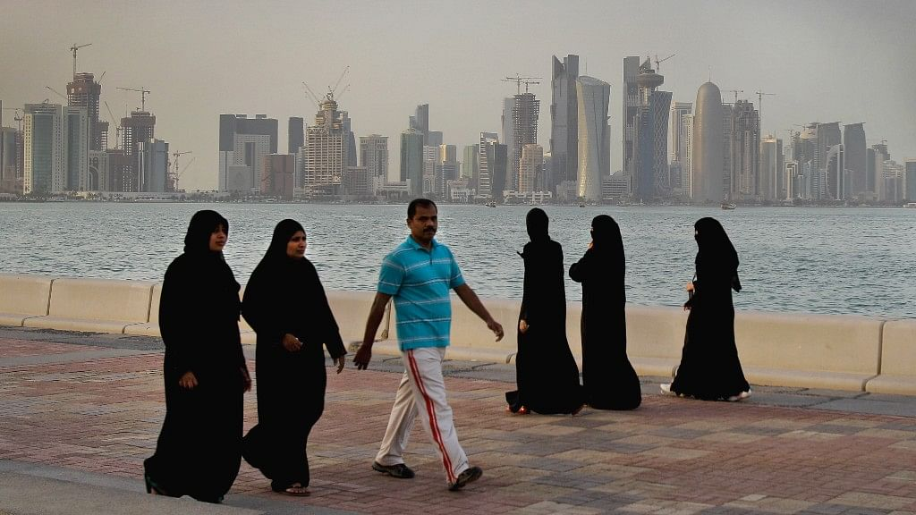 There are approximately 6.5 lakh Indians in Qatar, making it the largest expatriate community there. (Photo: AP)