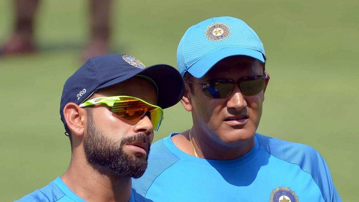 Reports of a rift between skipper Virat Kohli and coach Anil Kumble have surfaced. (Photo: IANS)