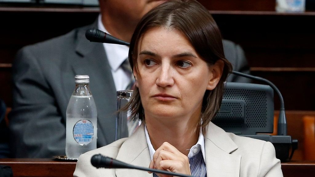 Ana Brnabic, the prime ministerial nominee for Serbia. (Photo Courtesy: AP)