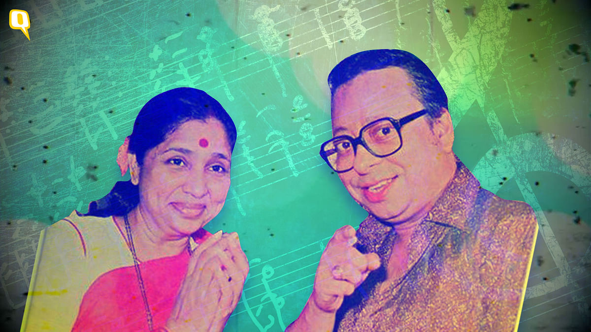 Married to the music: Asha Bhosle and RD Burman.