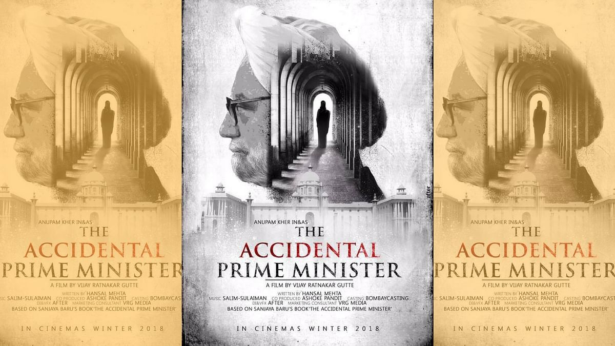 The first poster of <i>The Accidental Prime Minister. </i>(Photo courtesy: Twitter)