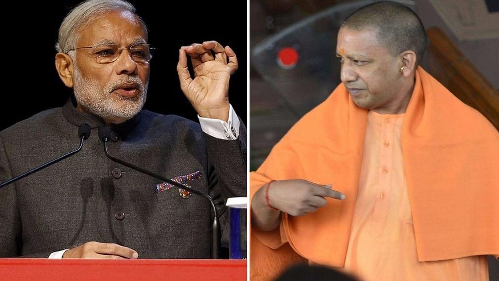 Prime Minister Narendra Modi and UP Chief Minister Yogi Adityanath,