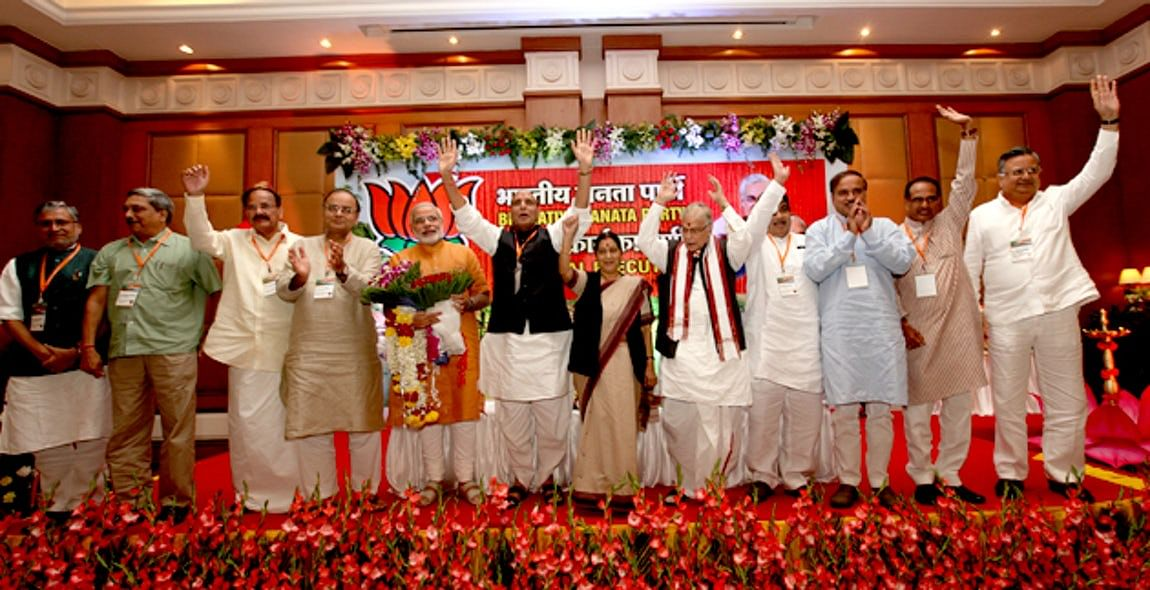 On 13 September 2013, Narendra Modi was declared the Prime Ministerial candidate of the Goa Executive. (Photo Courtesy: BJP4INDIA)