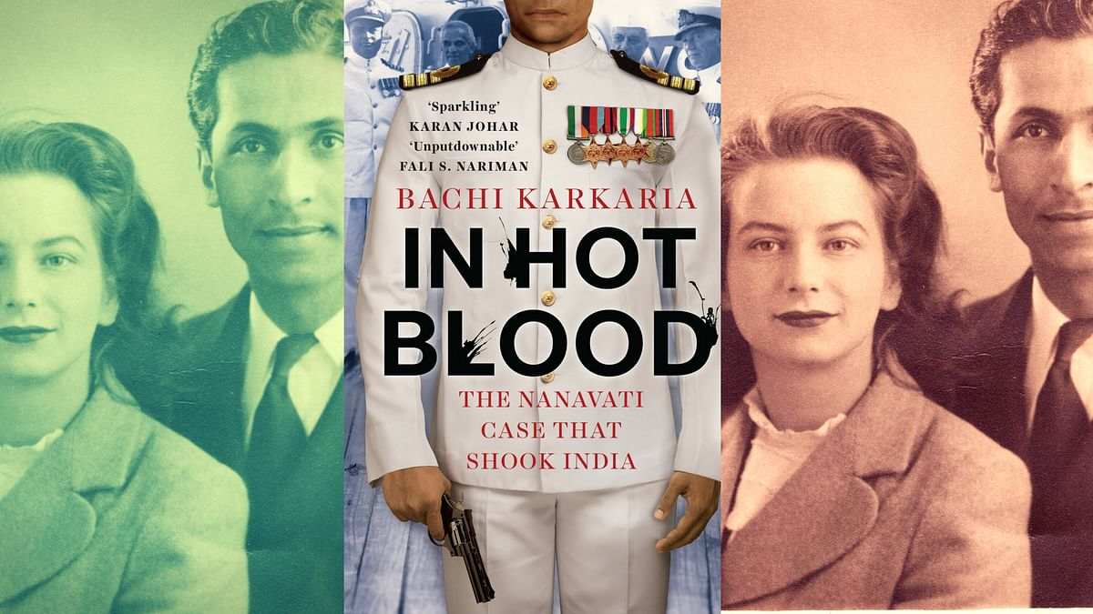 Commander Kawas Nanavati with his English wife Sylvia shortly after they got married in 1949; Bachi Karkaria's book decodes the backstory of one of the most sensational crimes of that decade. (Photo courtesy: Juggernaut)