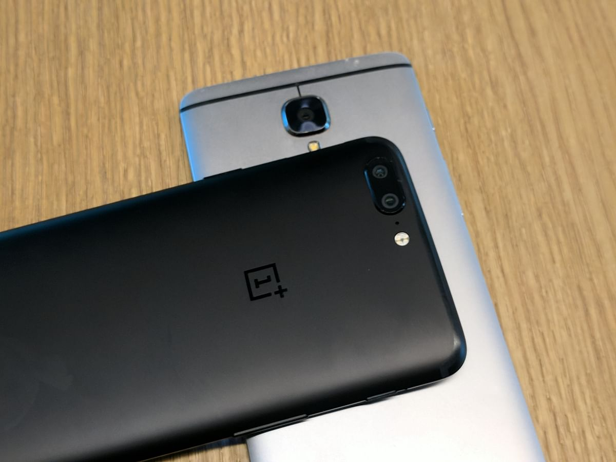 The camera optics on OnePlus 5 and OnePlus 3T are different.