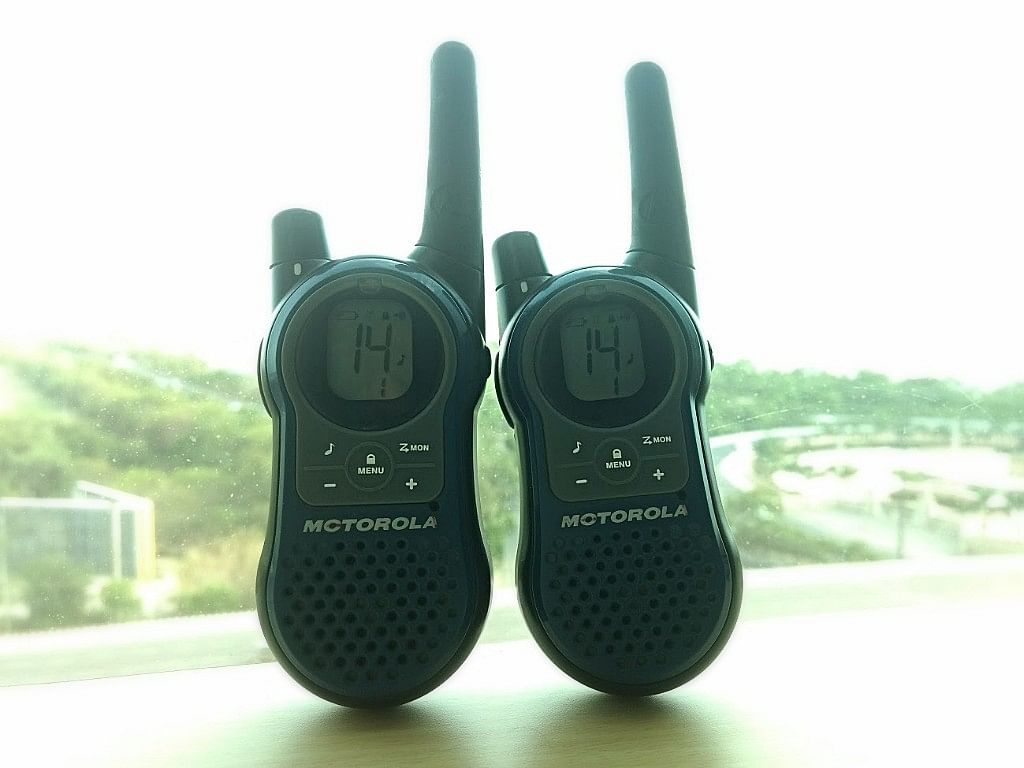 Two-way radios or Walkie-Talkies are easily available, but are not fully legal. (Photo: <b>The Quint</b>)