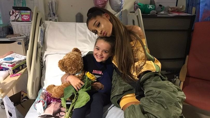 Ariana Grande Pays Surprise Visit to Manchester Bomb Victims