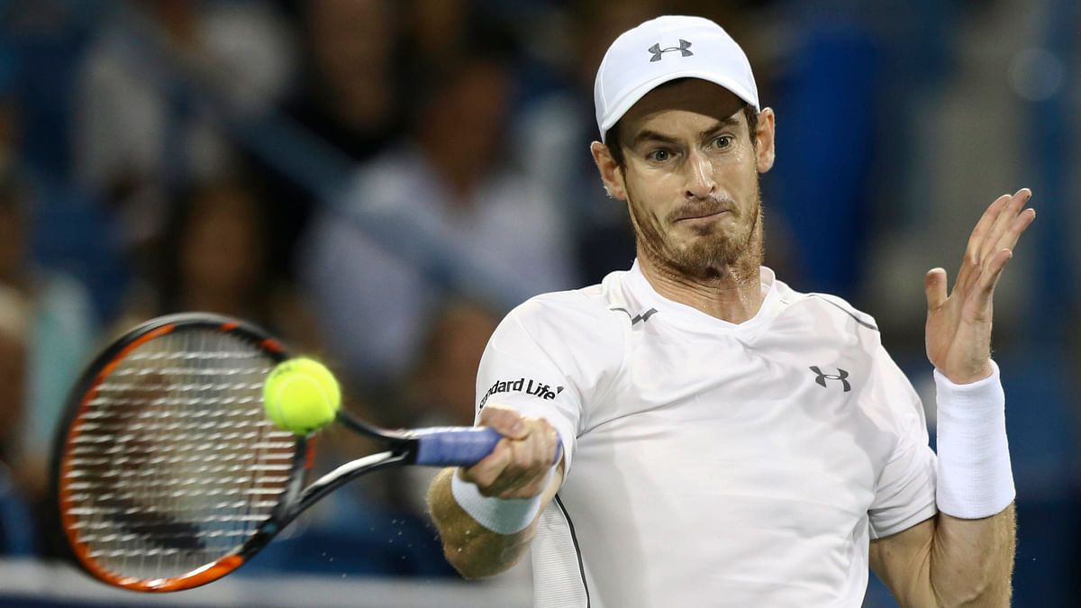 File photo of Andy Murray. The former world number one has received a wild card entry into the French Open.