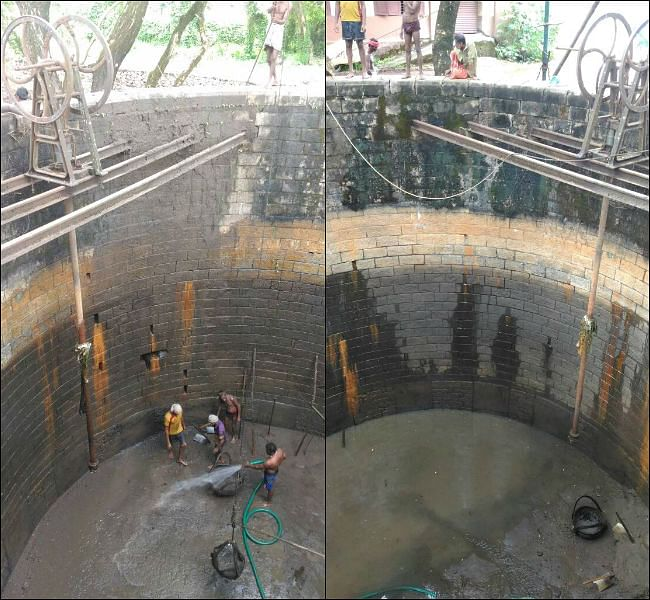 """The 36-foot-deep well was built in 1902. (Photo Courtesy: <a href=""""http://www.thenewsminute.com/article/forgotten-decades-115-yr-old-well-saving-day-drought-hit-thrissur-rail-station-63228"""">The News Minute</a>)"""