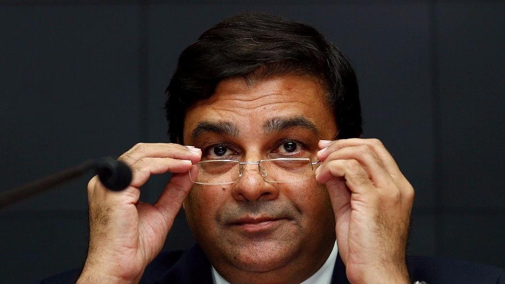 RBI Governor Urjit Patel. (Photo: Reuters)