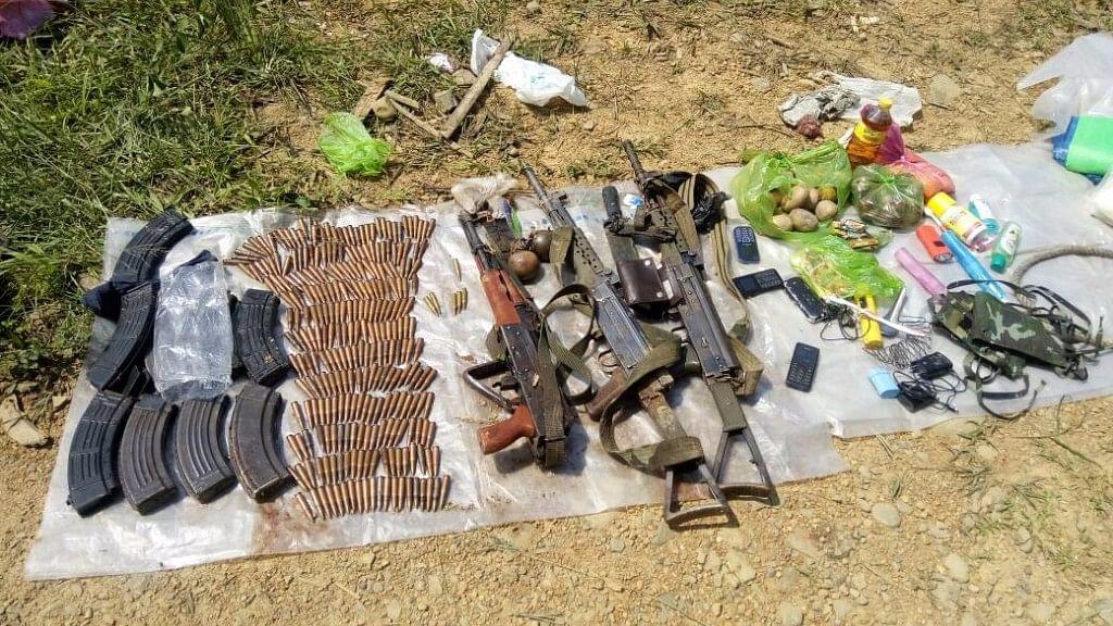 Photo of the ammunition seized from the encounter (Photo: Anjana Dutt)
