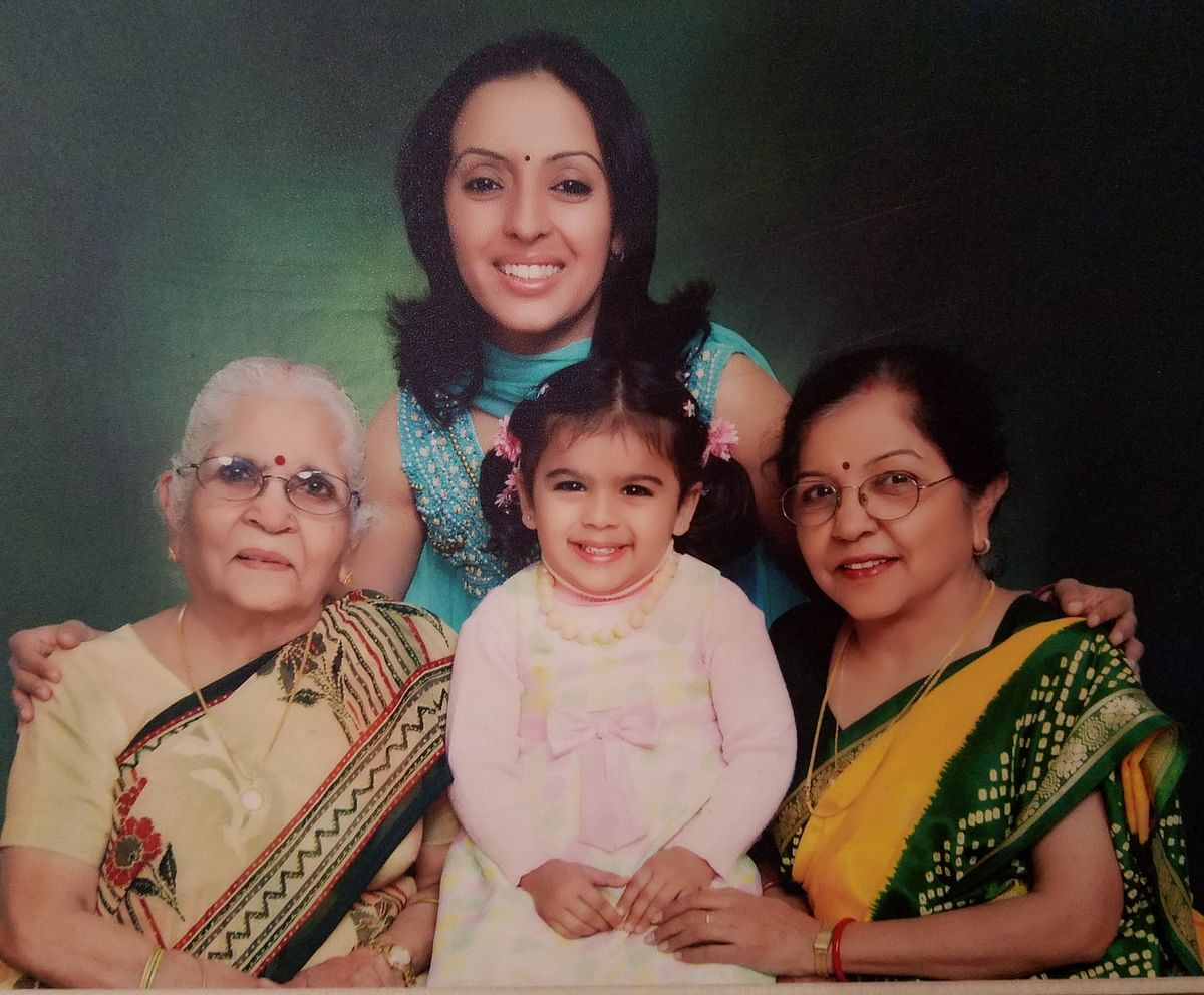 Four generations of story lovers together. (Photo Courtesy: Vani)