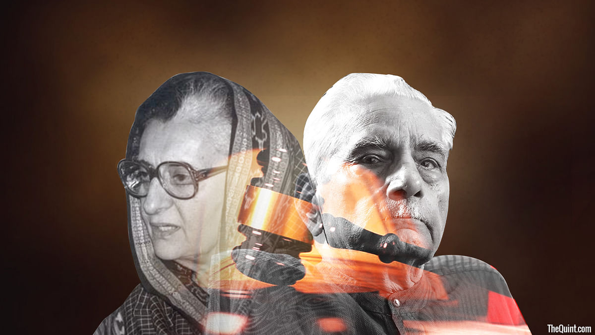 Shanti Bhushan first fought in court to get Indira Gandhi disbarred as an MP. Later as Law Minister in the first-non Congress government, he amended the Constitution, so that civil liberties remained intact even during an internal emergency.