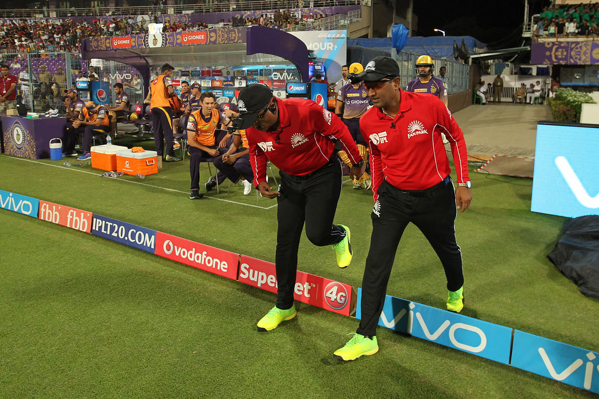 Domestic cricket umpires used in the IPL created quite a stir with more than a handful of erroneous incidents. (Photo: BCCI)