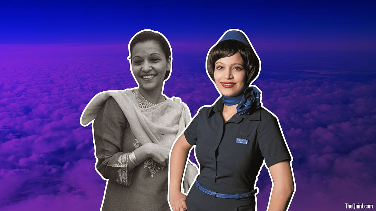 Air hostess uniforms through the decades (Photo:<b> The Quint</b>)