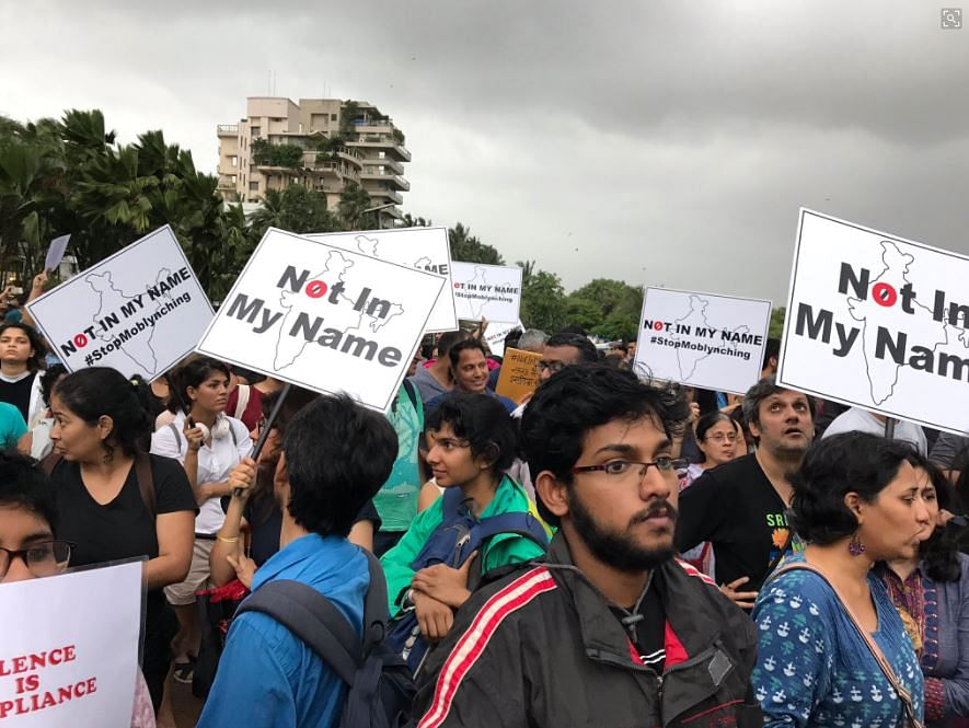 #NotInMyName: Thousands Protest Against 'Murderous Nationalism'