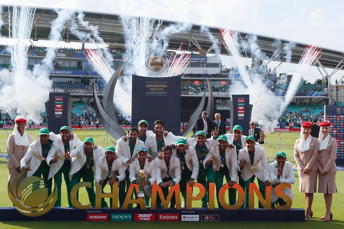 Pakistan won the Champions Trophy in the final against India.