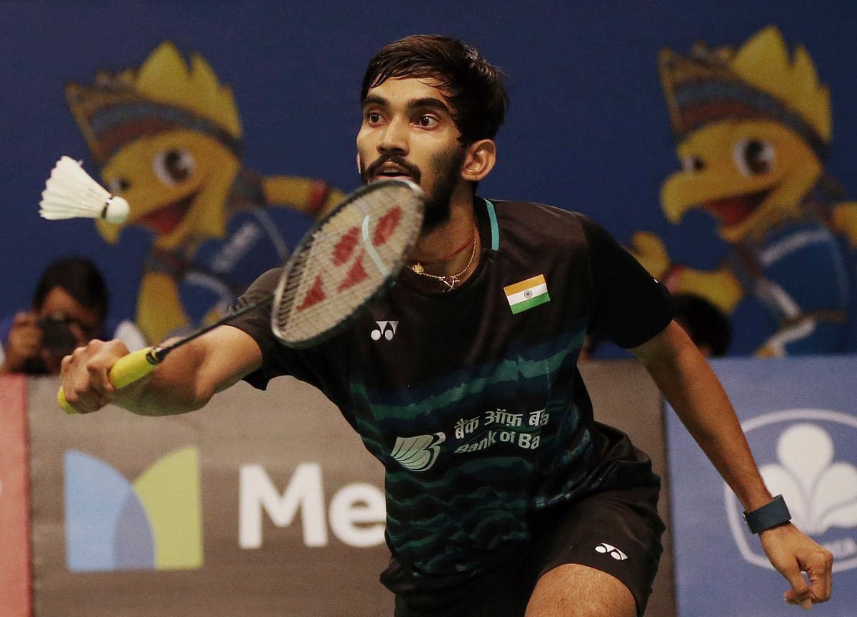Kidambi Srikanth has also advanced to the semi-finals of the Indonesia Open. (Photo: AP)