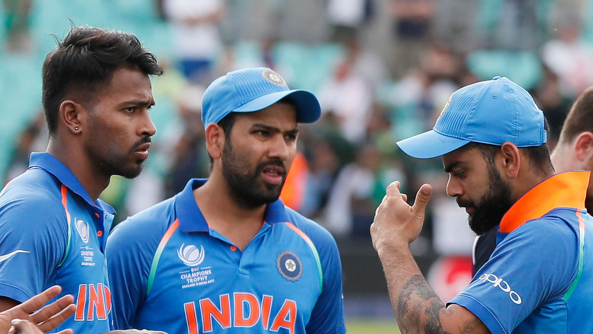 India lost to Pakistan by 180 runs in the Champions Trophy final.