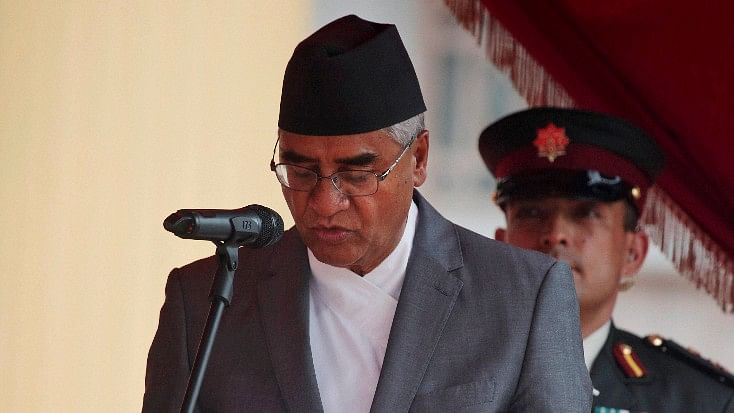 Sher Bahadur Deuba said that he would work for the benefit of Nepal's interest and maintain a balanced relation between India and China. (Photo: PTI)
