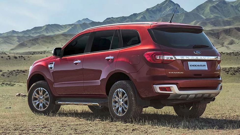 There is only one 4x4 variant of the Ford Endeavour available now. (Photo: Ford India)