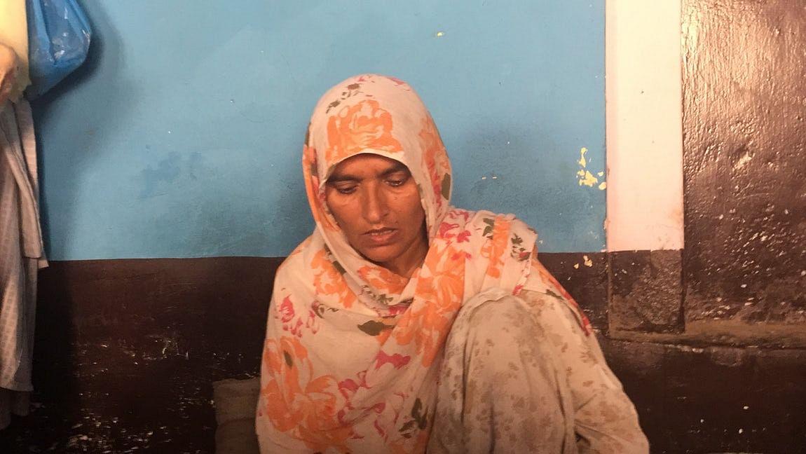 Junaid's mother, Saira.