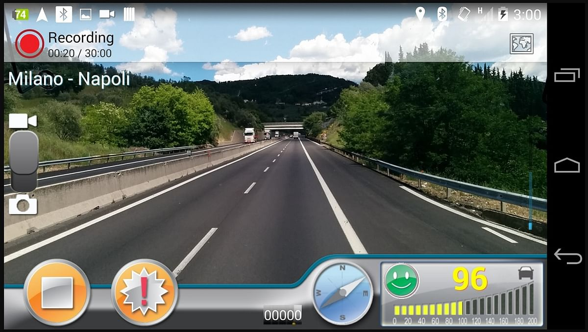 Old smartphones can be used as dashboard cameras.
