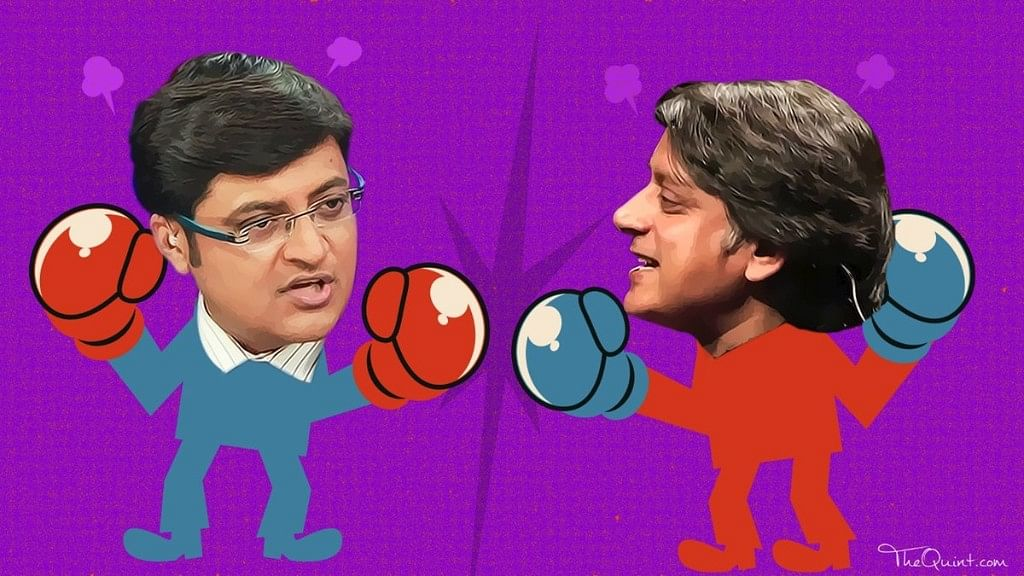Congress MP Shashi Tharoor has filed a criminal defamation case against Arnab Goswami.