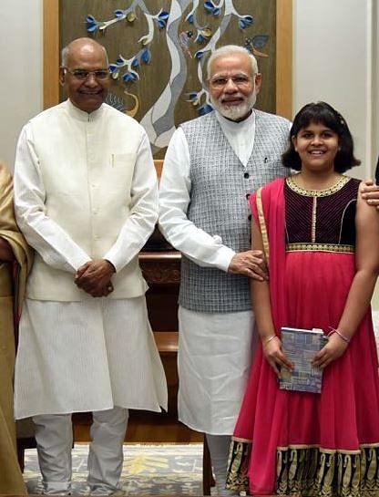 A recent photograph of Modi and Kovind.