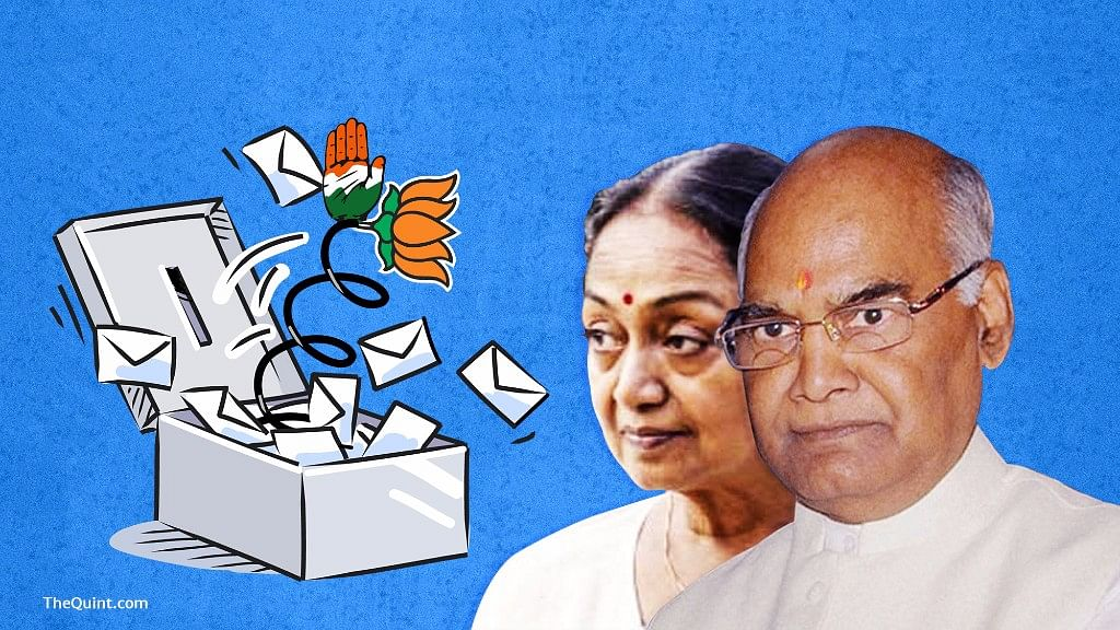 Cross-voting by elected party members led to embarrassment for the Congress-led Opposition.