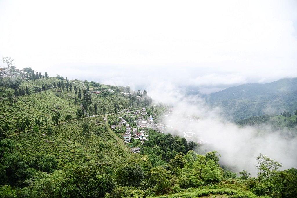 A view of Darjeeling.