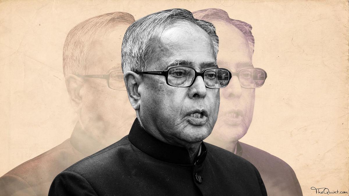 'Media Should Not Become Govt's Mouthpiece,' Says Pranab Mukherjee