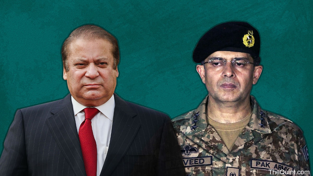 In Pakistan, the army determines national security threats and challenges, and decides how to deal with them.