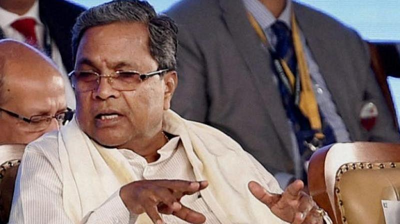 <p>Chief Minister Siddaramaiah.</p>