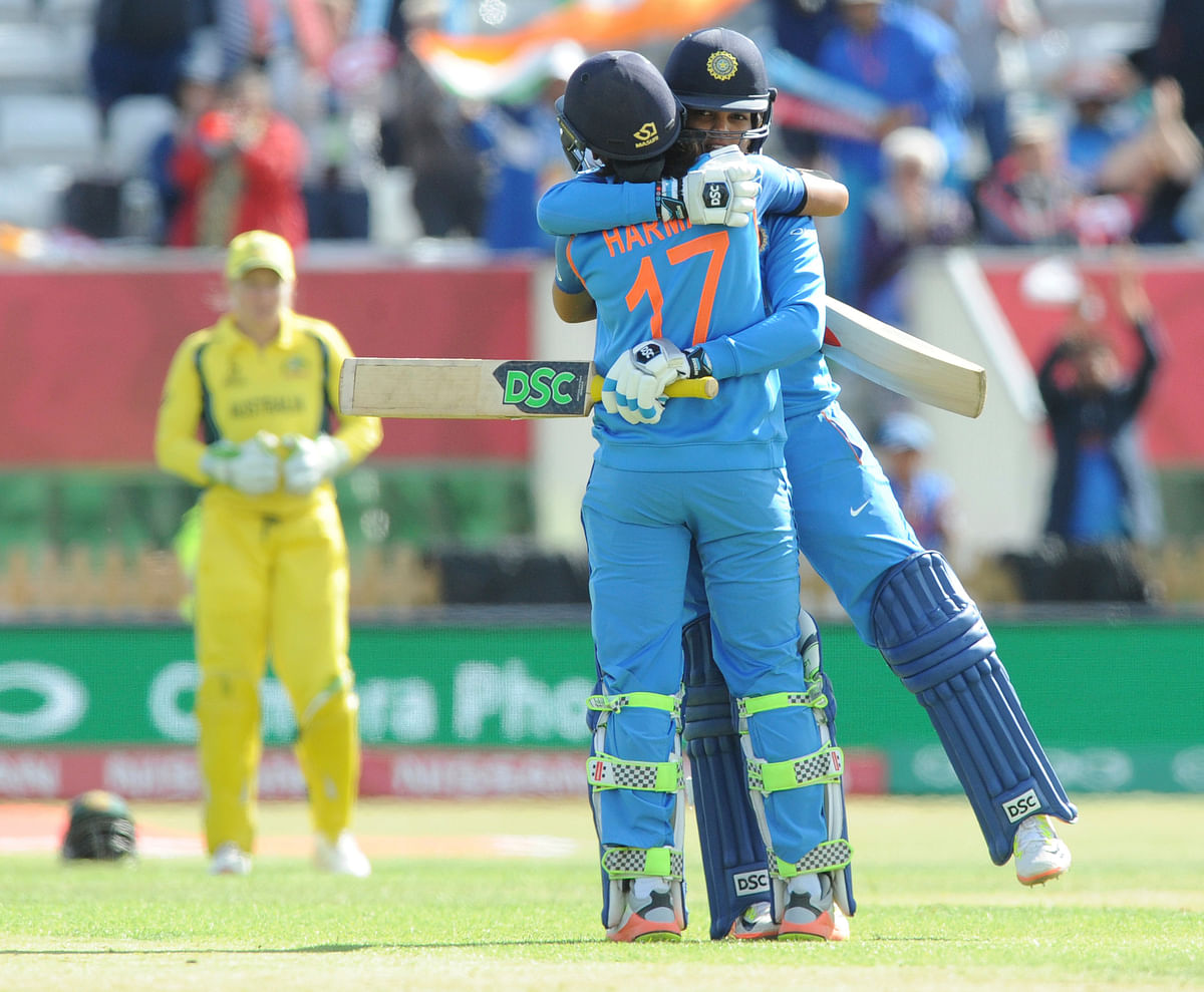 Harmanpreet's Unbeaten 171 Guides India to Record Total vs Aus