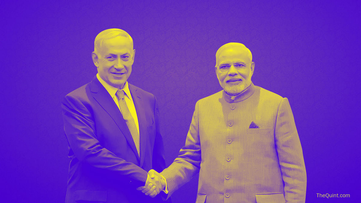 Narendra Modi is the first ever Indian Prime Minister to visit Israel.