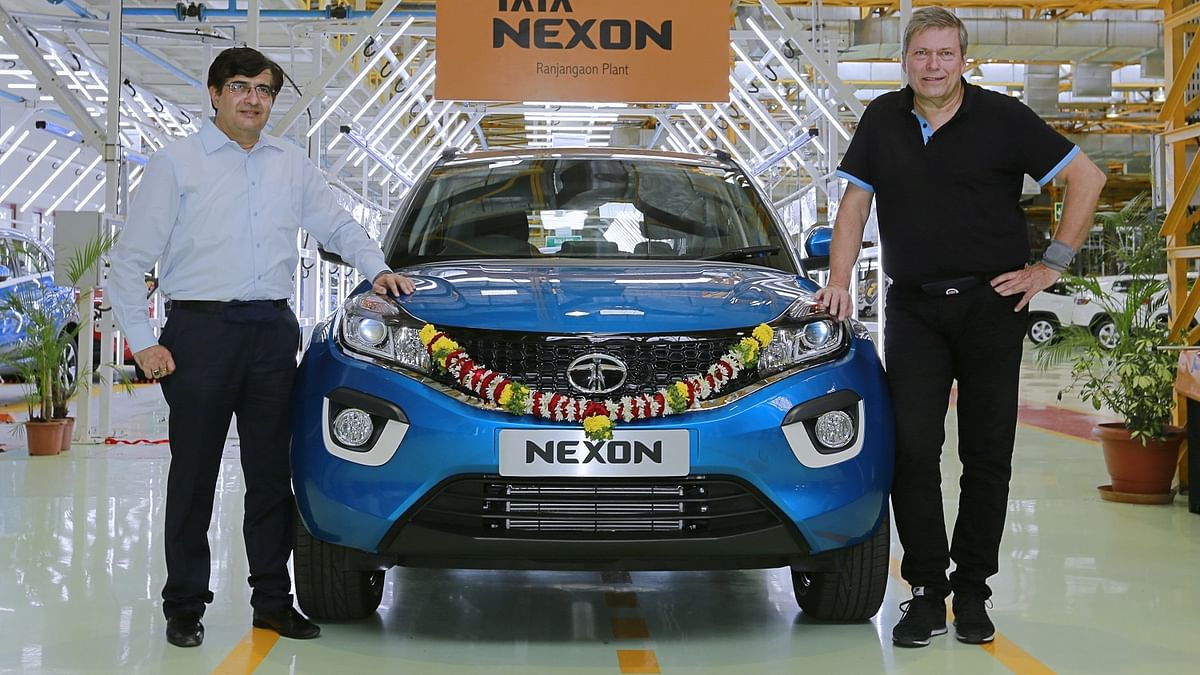 Tata Motors has begun production of the Nexon compact SUV