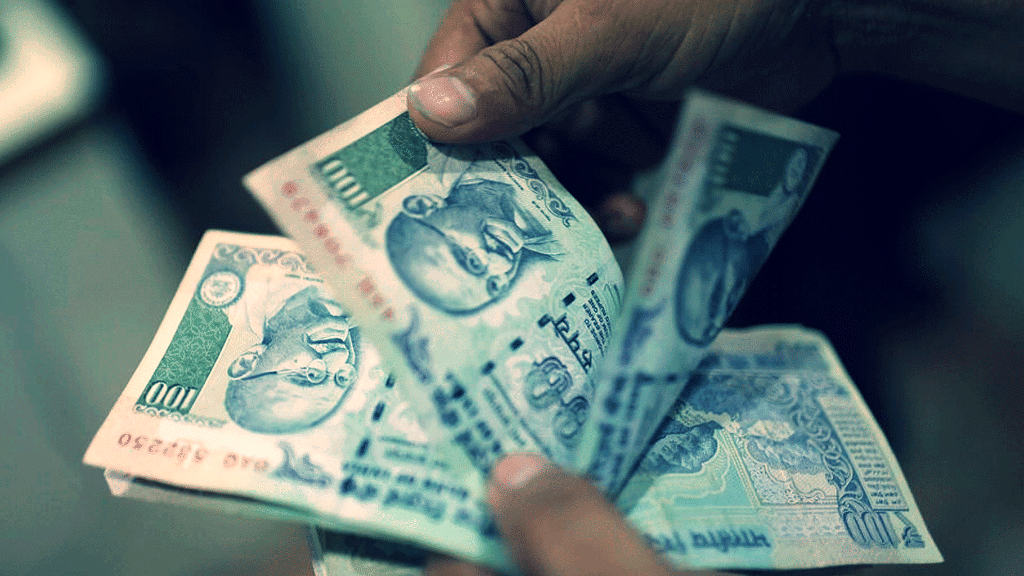 Rs 500 and Rs 1,000 notes were demonetised in November.