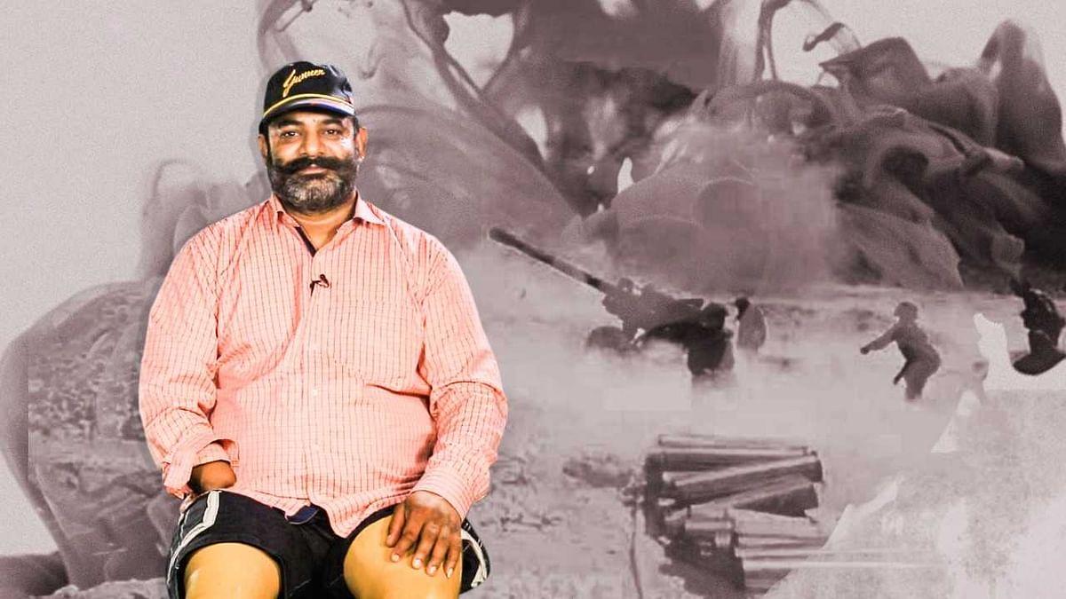 Retired Lance Naik Deepchand Prakhyat.