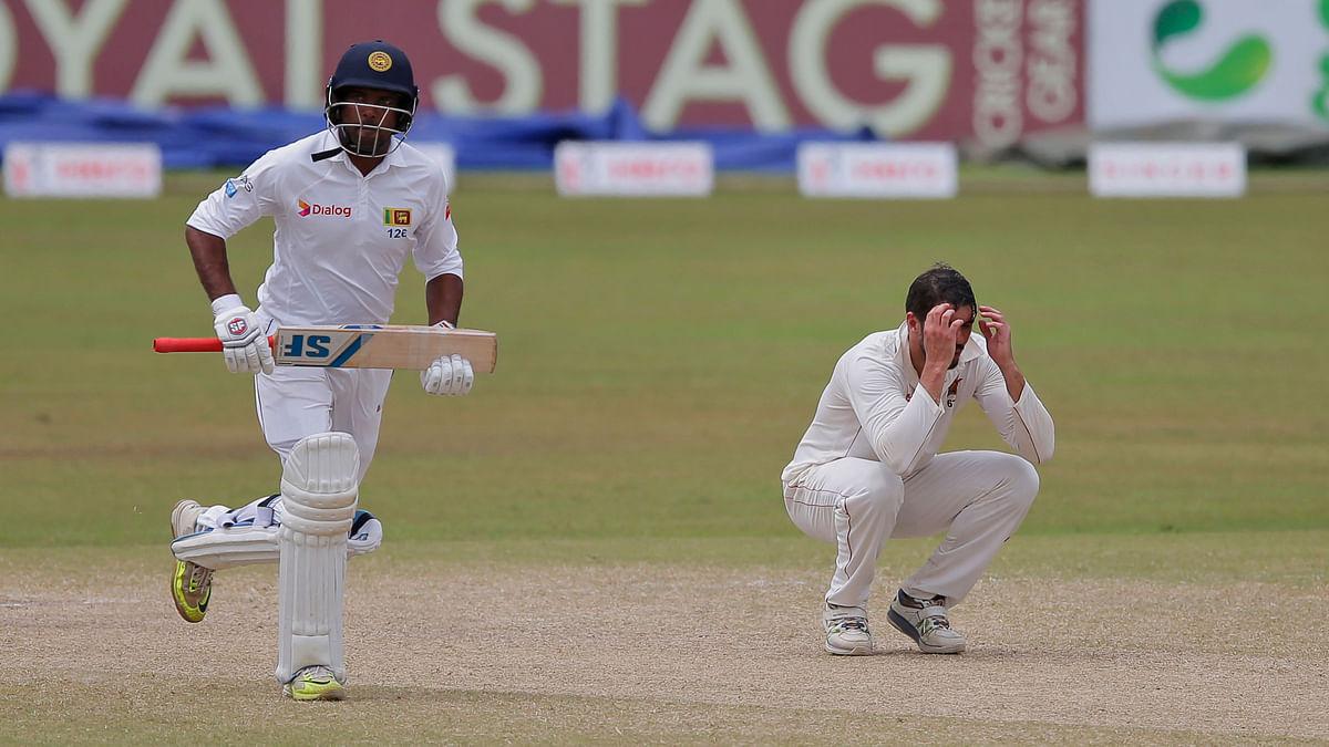 Sri Lanka beat Zimbabwe by 4 wickets.